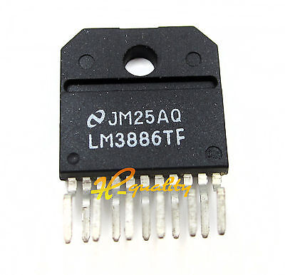 1PCS IC LM3886TF AMP AUDIO PWR 68W AB TO220-11 NEW GOOD QUALITY