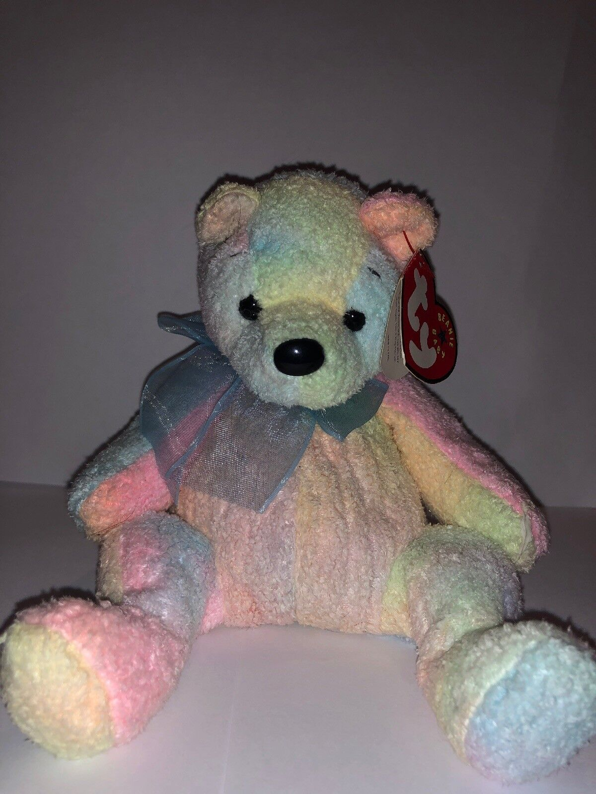 Ty Beanie Baby MELLOW the Bear EXCELLENT CONDITION