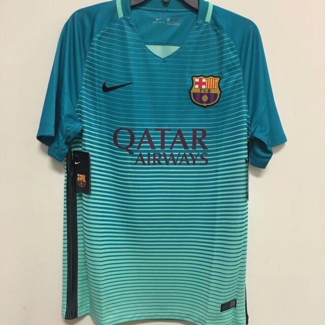 f5aeceb4d Nike FC Barcelona Official 2016 2017 Third Soccer Football Jersey w  Qatar