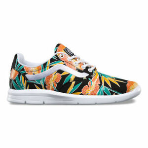 930930a50aa948 VANS ISO 1.5 (Tropical Leaves) Black True White UltraCush MEN S 7.5 ...