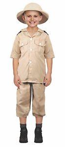 La imagen se está cargando Vestido-Elaborado-Disfraz-de-explorador-de-safari -para- 6b791420c32