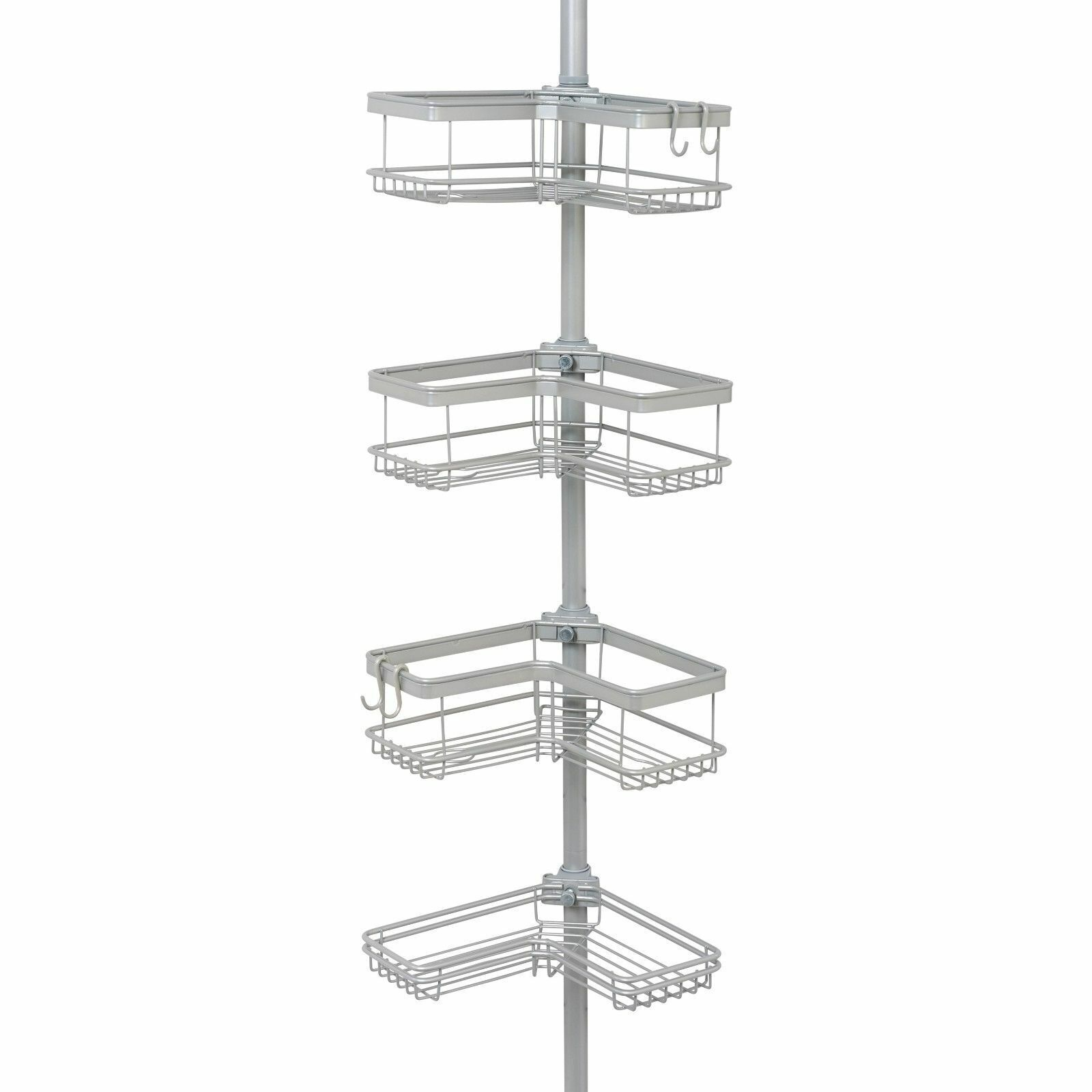 Better Homes Gardens Contoured Tension Pole Shower Caddy