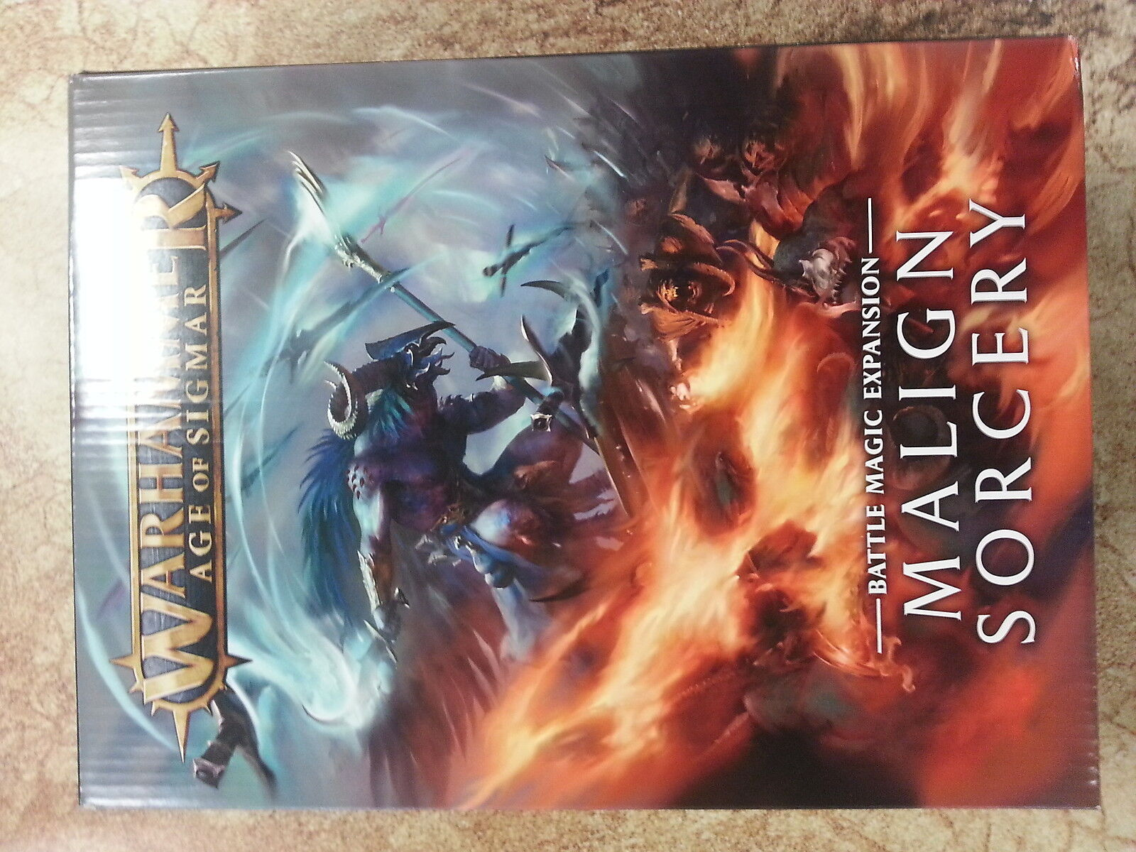 WARHAMMER AGE OF SIGMAR MALIGN SORCERY BATTLE MAGIC EXPANSION - NEW