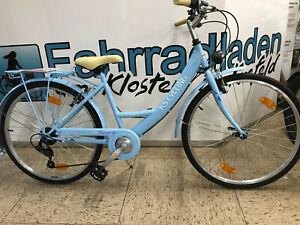 Damen-Citybike-Kinderfahrrad-Maedchenrad-26-Zoll-6-Gang-Rh-41-cm