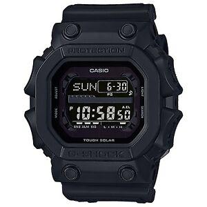 Casio-G-Shock-GX56BB-1DR-Tough-Solar-Mud-Resistant-Black-Out-Men-039-s-Watch