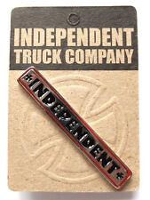 Independent Trucks Push Back Bar Pin - skateboard skate sk8 - brand new on card