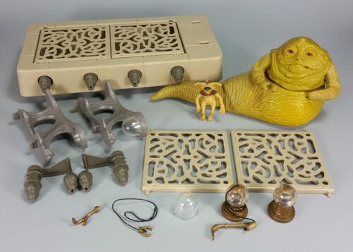VINTAGE Star Wars Jabba the Hutt Playset parti-Molti Tra Cui Scegliere!
