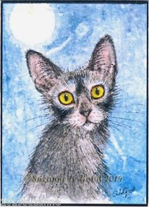 LIMITED-EDITION-LYKOI-WOLF-CAT-PAINTING-PRINT-FROM-ORIGINAL-BY-SUZANNE-LE-GOOD