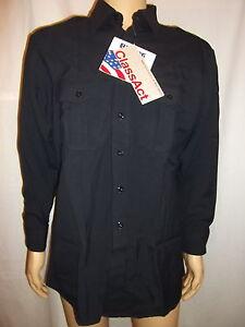 Blauer classact long sleeve shirt style 8402 size 17 33 for 17 33 shirt size
