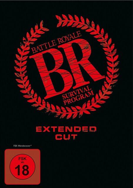 "DVD * BATTLE ROYALE - SURVIVAL PROGRAM ~ FSK 18 # NEU OVP """