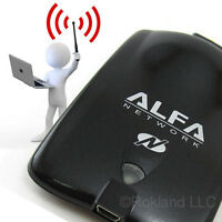 Alfa Awus036nha 802.11n Wireless-n Wi-fi Adapter With Fast Throughput Speed