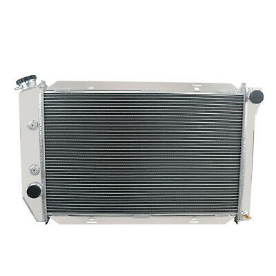 """ALUMINUM RADIATOR Fans FOR 1969-1973 FORD MUSTANG COUGAR FORD CARS 26/"""" CORE AT"""