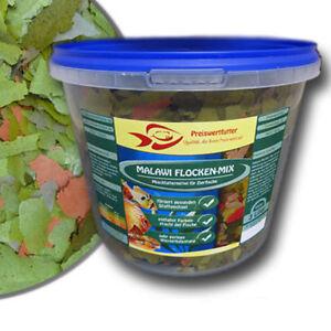 Malawi-Flocken-Mix-3Liter-Eimer-480-g-Cichlidenfutter-Futterflocken-Fischfutter