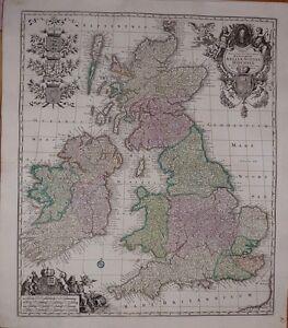Antique-map-Tabula-novissima-accuratissima-regnorum-Angliae-Scotiae-Hiberniae