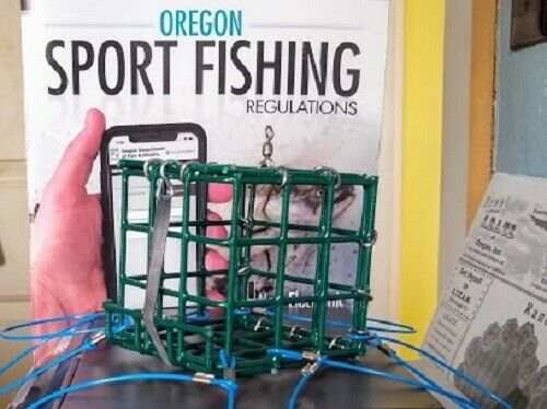 """Made in Oregon 3/"""" x 3/"""" Box-type Crab//Lobster Snare"""