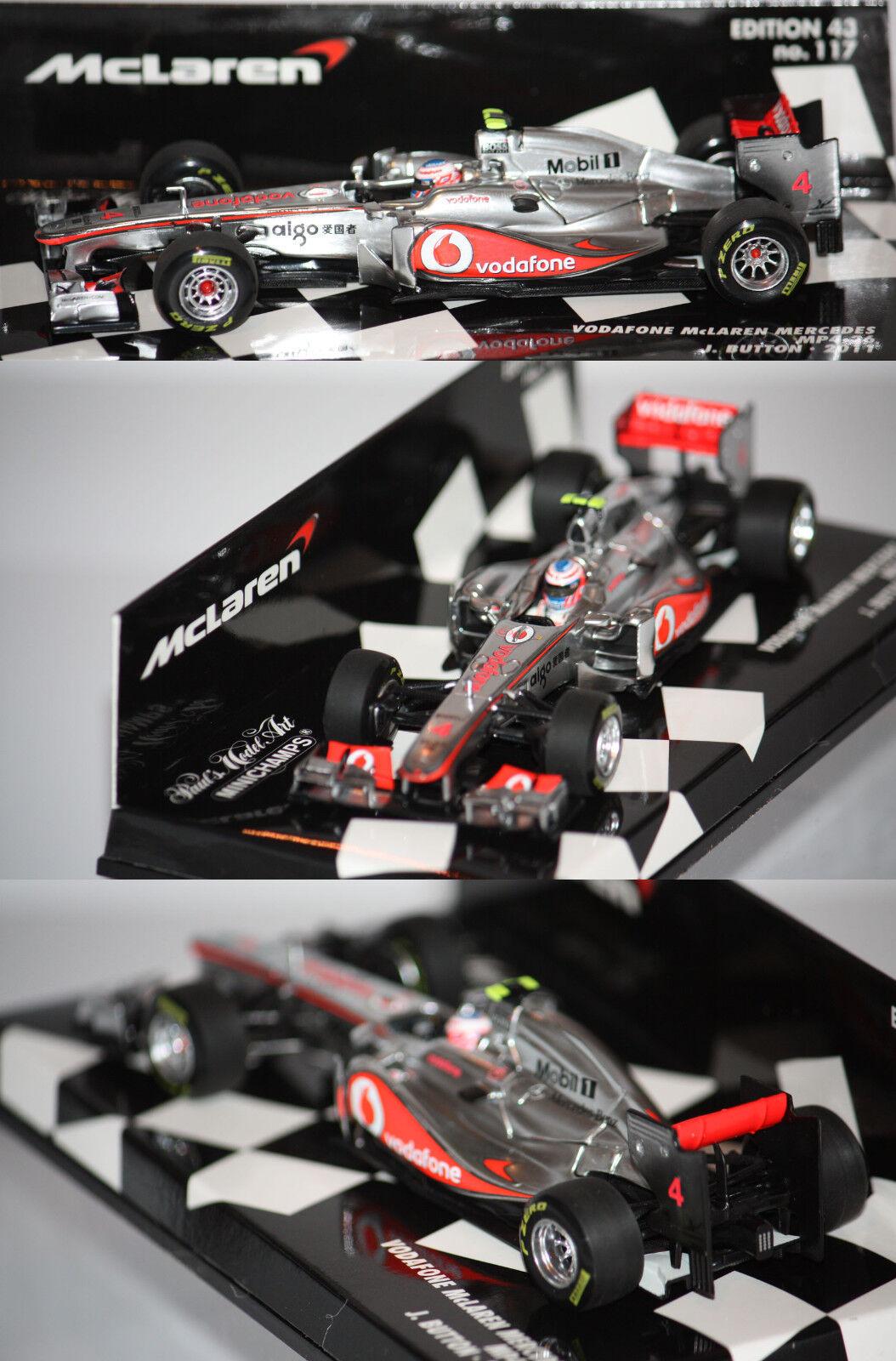Minichamps F1 McLaren Mercedes MP4-26 J. Button 2011 1 43 530114304
