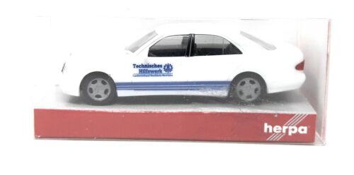 Herpa h0 1:87 automóviles mercedes benz clase e THW técnico socorro NRW 045551