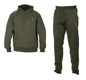 Fox Collection Green Silver Hoody & Joggers / Carp Fishing Clothing