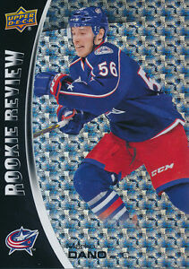 2014-15-Overtime-RRC-18-Marko-Dano-Rookie-Review-Insert-Card