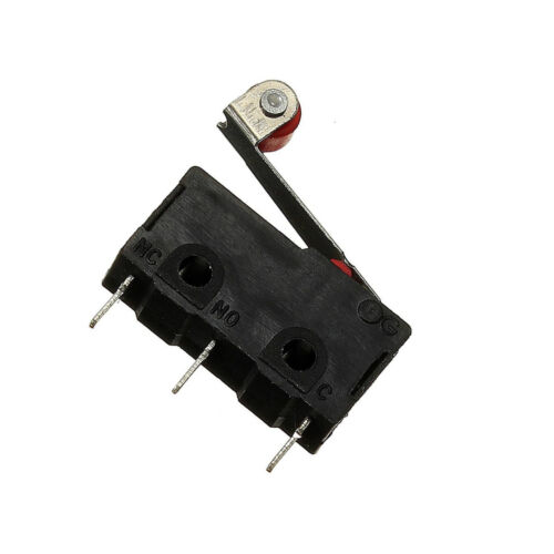 2Pcs KW12-3 Micro Roller Lever Arm Normally Open Close Limit Switch