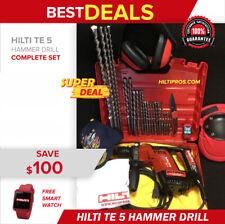 Hilti Te 5 Hammer Drill Good Condition Free Smart Watch Bits Fast Ship
