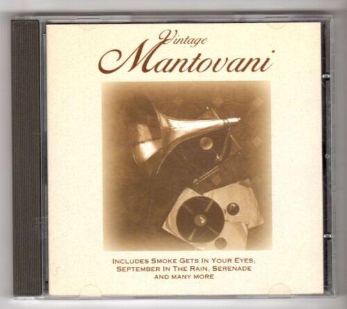 1 of 1 - (GY246) Mantovani, Vintage Mantovani - 1996 CD