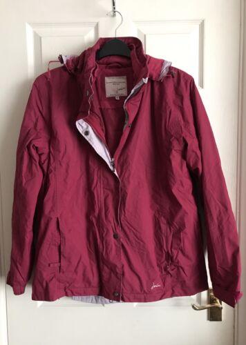 para de prueba de tᄄᆭrmica rosado Abrigo tamao con Joules mujeres capa a 16 lluvia extraᄄᆰble 50wqnBX
