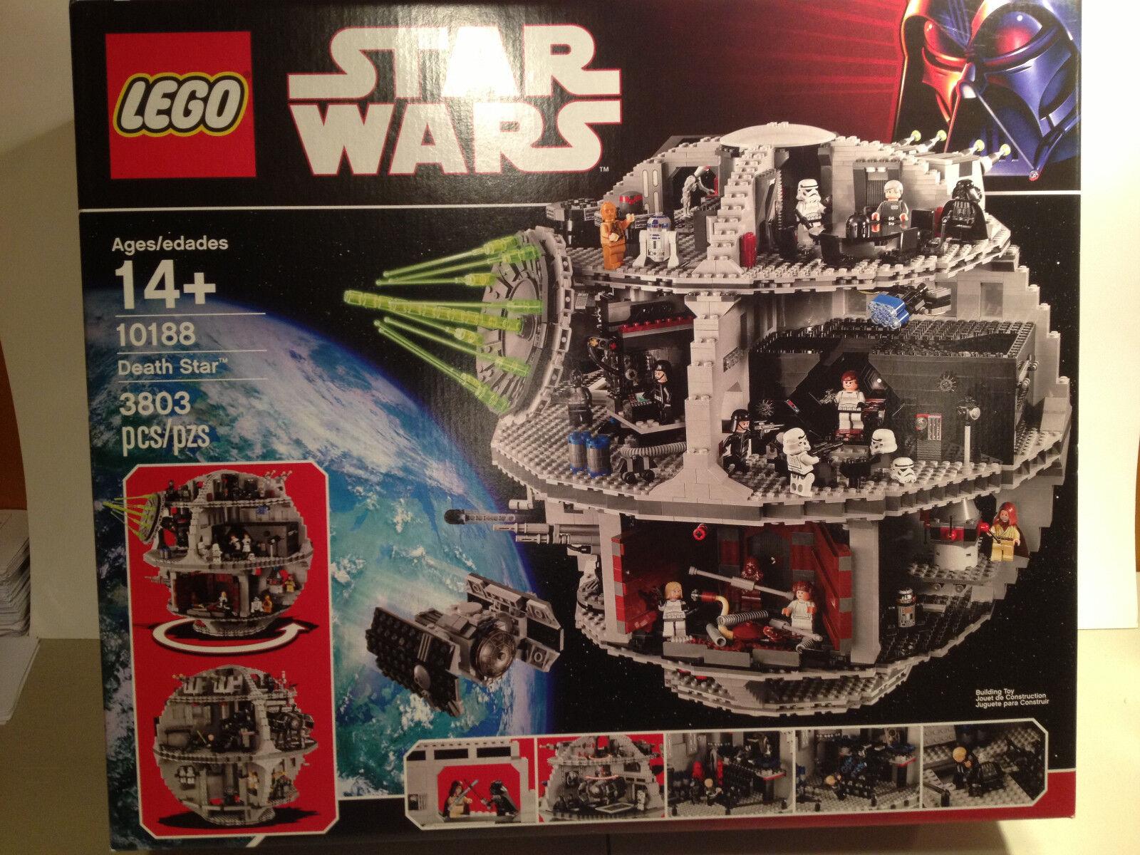 LEGO 10188 DEATH STAR - NEW SEALED 25 Minifigs Star Wars FAST SHIPPING