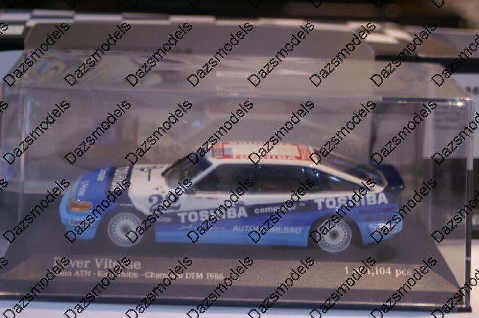 Minichamps Rover Vitesse Team ATN Champion DTM 1986 1 43 diecast