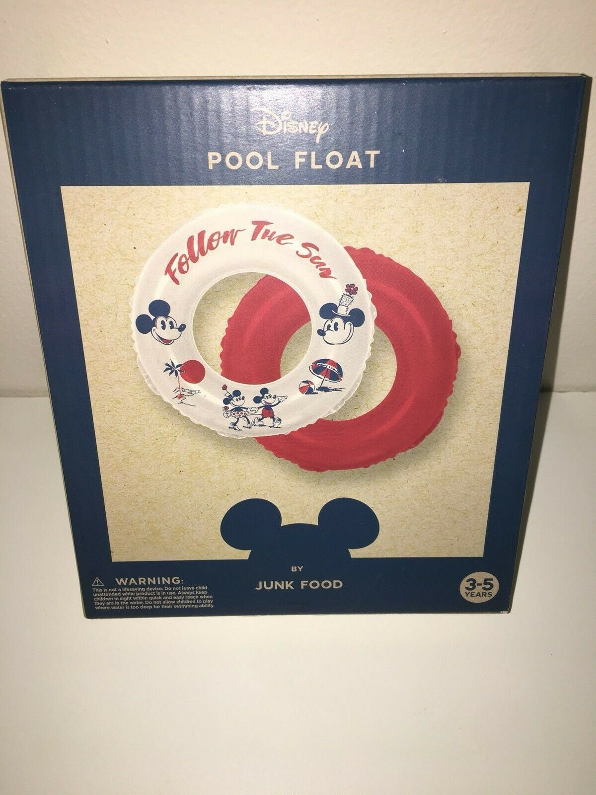 Brand New- Disney Pool Float-by Junk Food- Ages 3-5-Vin