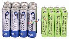 12 AA BTY 3000mAh + 12 AAA verde 1800mAh NiMH batería recargable RC Reloj MP3