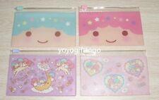 2014 Japan Little Twin Stars card holder coin bag PVC zipper pocket set of 4