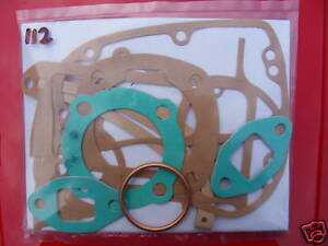 Details about 112 VILLIERS 197cc 9E/3 9E/4 10E 1955on ENGINE GASKET SET