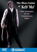 Keb Mo The Blues Guitar Of Homespun Dvd