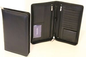 RFID-Security-Block-Lined-Leather-Passport-Wallet-Col-Black-Style-No-11010