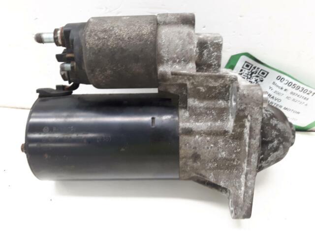 2007 FIAT BRAVO 1910cc Diesel Manual Bosch Starter Motor 0 001 108 234