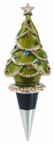 Olivia Riegel - Bottle Stopper - vert Christmas Tree
