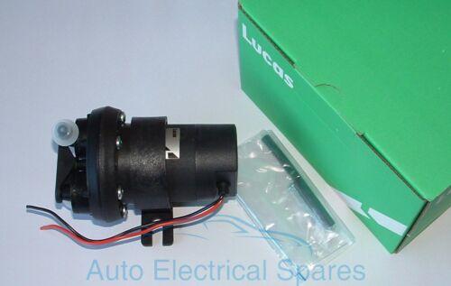 Lucas 12v Pompe Carburant Électrique Aspiration avec Contacts Électroniques Su