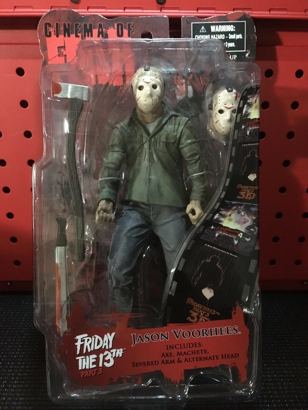 CINEMA OF FEAR MEZCO FRIDAY THE THE THE 13TH PART 3 JASON VOORHEES d87257