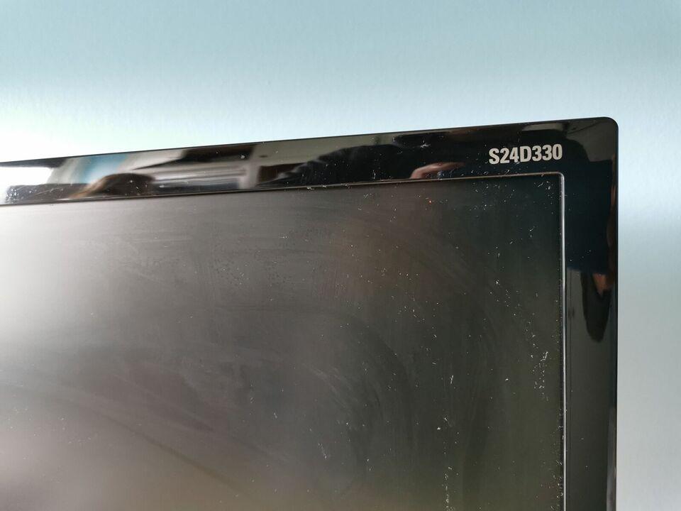 Samsung, fladskærm, S24D330
