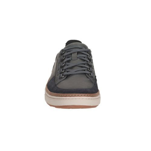 Clarks Mens LORSEN VIBE Navy Nubuck Leather Casual Shoes Sneakers Size 10.5 NEW