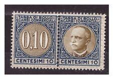 1929  -  MARCA DA BOLLO  SCAMBI COMMERCIALI   CENT. 10  NUOVA **