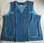 Damenkittel Kasack Schürze ohne Arm Kurzform 100/%Baumwolle  60  62  64  66