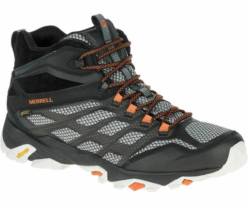 Merrell Moab FST MID Gore-Tex GTX Shoes Men's - Black J35737