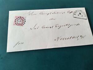 Bayern-dekorat-Kreuzer-Brief-3-Kr-15-mit-oMR-034-248-034-Kissingen
