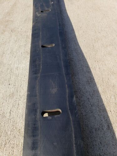 """SNOW PLOW RUBBER PROTECH 7/' 1 X 6/"""" RUBBER CUTTING EDGE SNOW PUSHER RUBBER"""