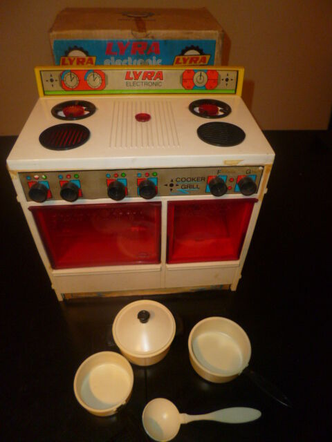 AMAZING VINTAGE RARE GREEK PLASTIC ELECTRONIC COOKER GRILL B O BY LYRA 70s