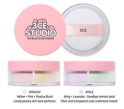 [3CE 3 CONCEPT EYES] Studio Blur Loose Filter Powder 7g  KOREA NEW
