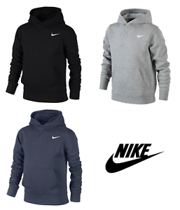 Nike-Garcons-Swoosh-Junior-Polaire-Sweat-a-Capuche-Hoody-Sweat-shirt-Pull-Haut-a-Capuche