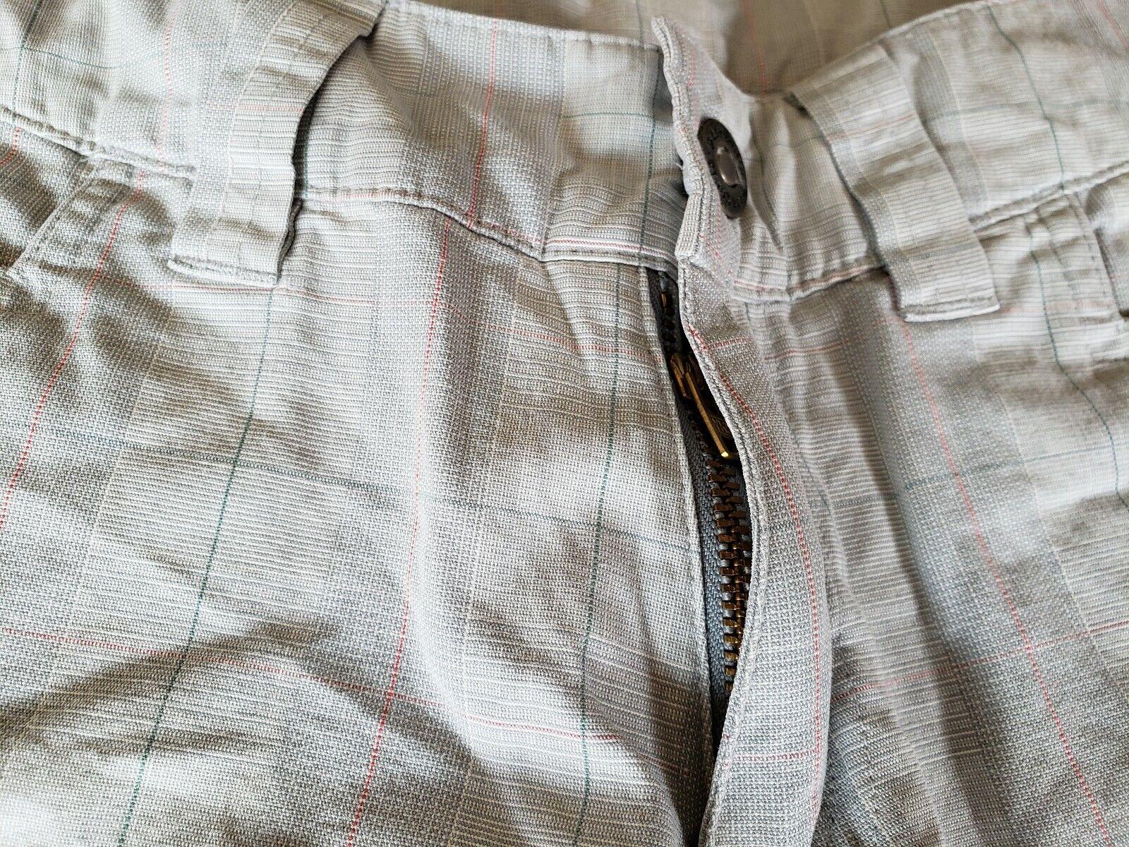 Patagonia ~ Women's Green Plaid Cropped Pants ~ S… - image 5